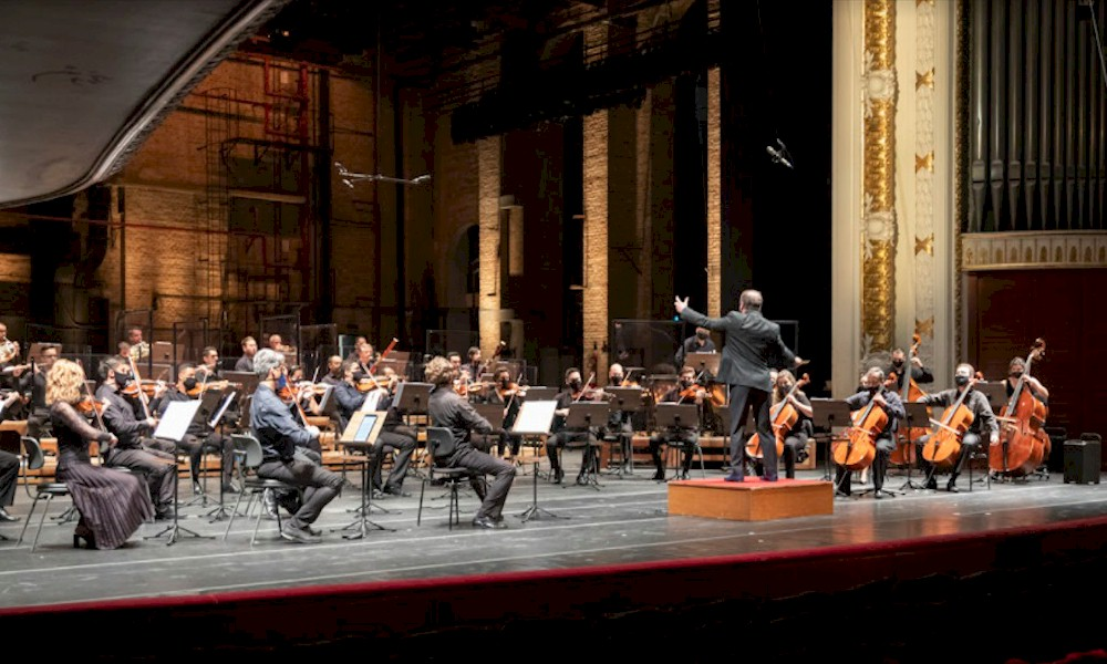 Orquestra Sinfônica de São Paulo apresenta obras de Schubert e Mozart ao vivo