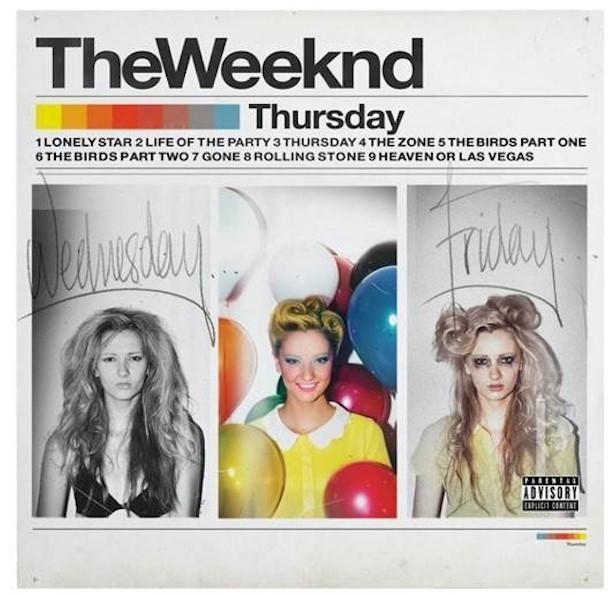 """The Weeknd lança a edição comemorativa do álbum """"Thursday"""""""