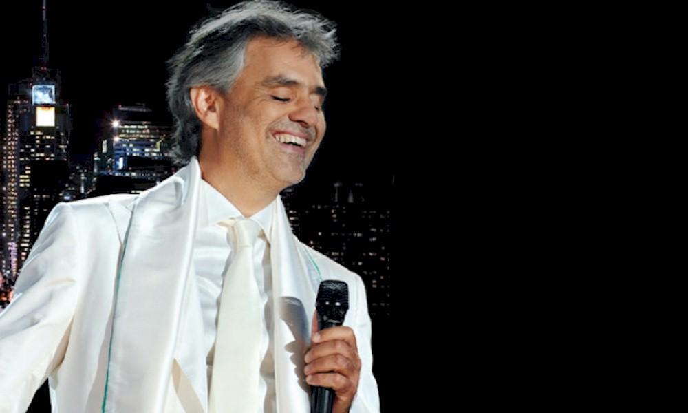 """Andrea Bocelli lança a edição de 10 anos de """"One NIght in Central Park"""""""