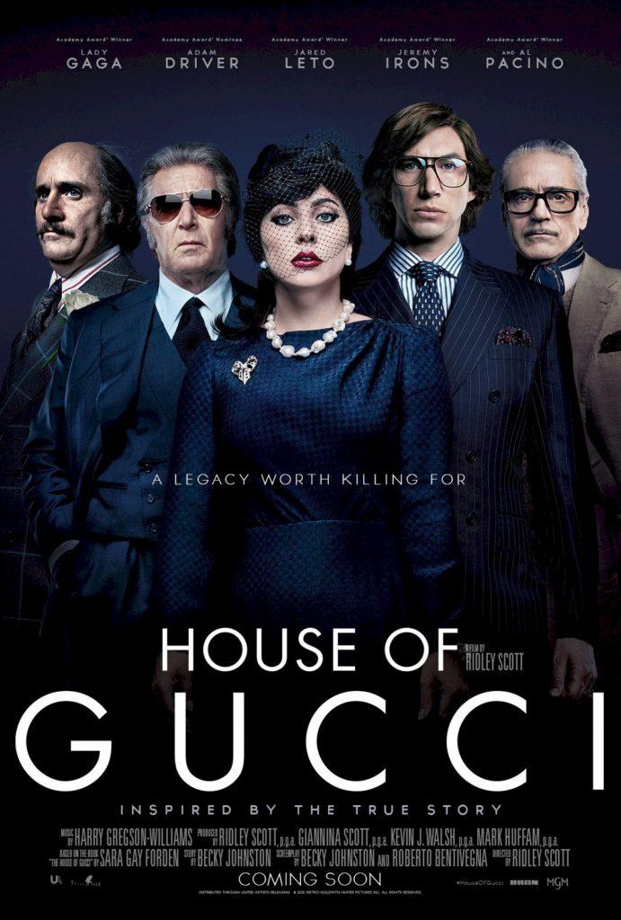Lady Gaga: confira o novo pôster de House of Gucci