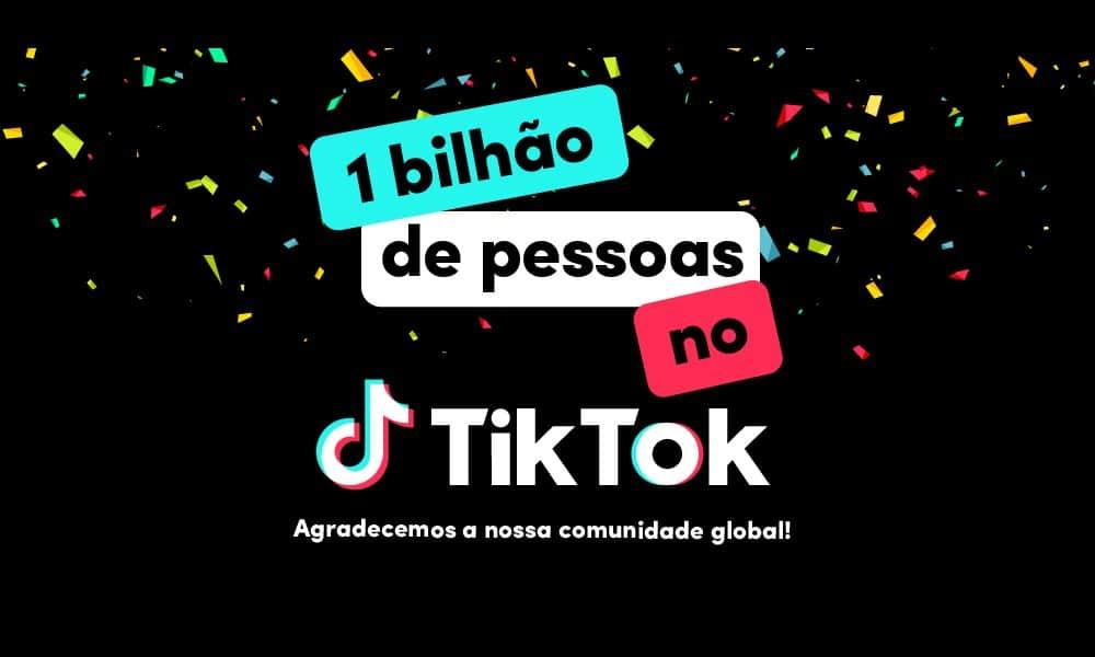 Impulsionada pela música, TikTok alcança 1 bilhão de pessoas na plataforma
