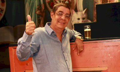 """Zeca Pagodinho apresenta show """"Mais Feliz"""" em São Paulo"""