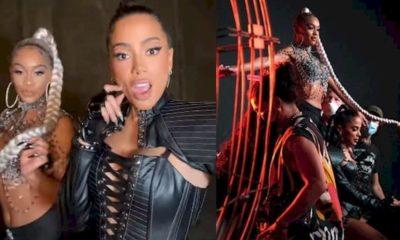 Após lançar clipe com rapper, Anitta se envolve em confusão com produção