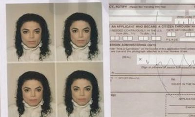 Documento raro de Michael Jackson é vendido na internet por mais de R$ 400 mil