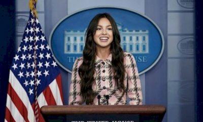 """Olivia Rodrigo se diz """"surpresa"""" pelas pessoas que apoiaram sua fama"""