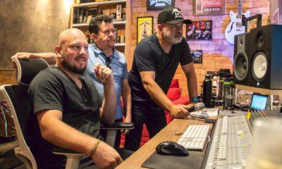 Rionegro e Solimões entram em estúdio para gravação de projeto inédito