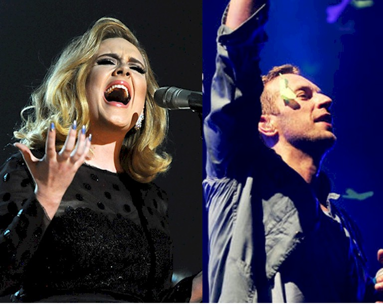 Adele e Coldplay concorrem ao Ivor Novello Awards 2017